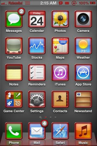 Download PlatinumRed Alt Icons 1.0.1