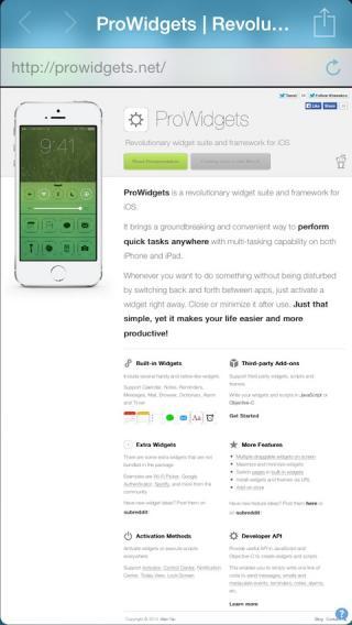 Download ProWidgets 1.1.0
