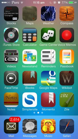 Download Pure HD Icons 2 iOS7 1.0.1