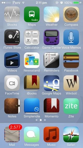 Download Pure HD Icons iOS7 1.0.1