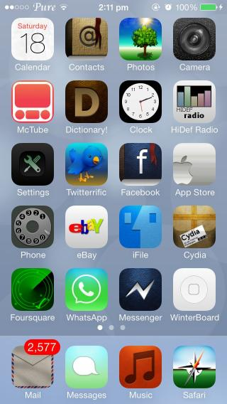 Download Pure Zeppelin iOS7 1.0