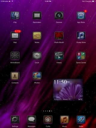Download PurpEX 7 iWidget 1.0