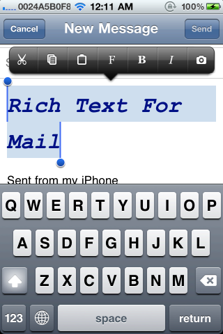 Download Rich Text For Mail 1.2.7k