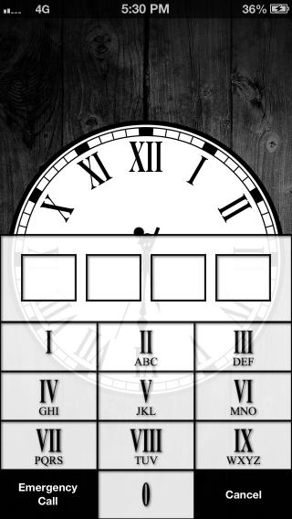 Download Roman LS Clock HD 1.0b