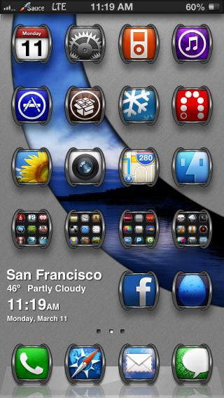 Download RSHD iP5 Weather & Date 1.0-1