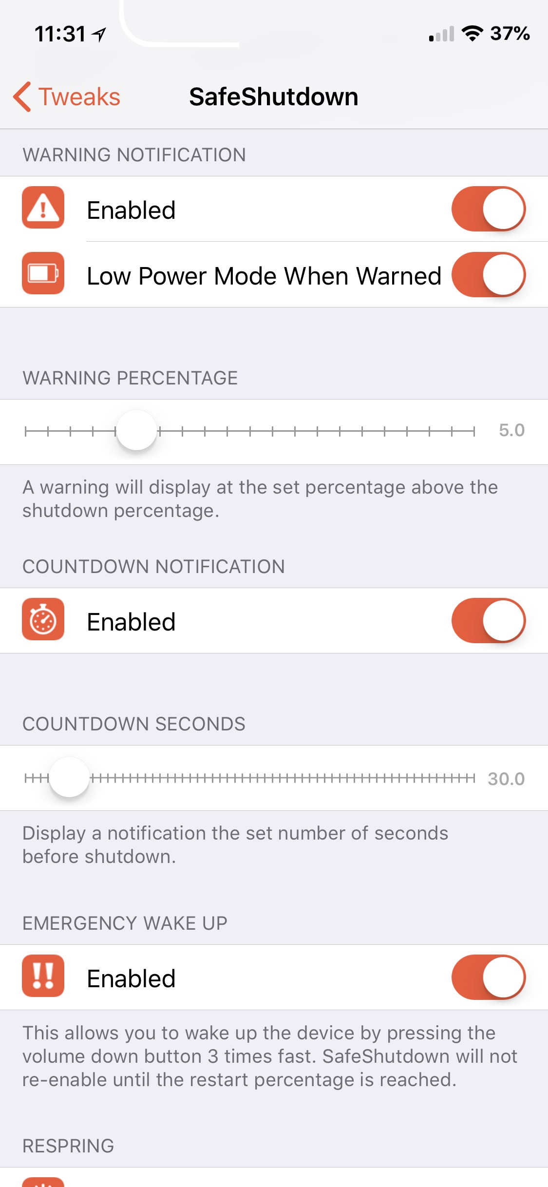 Download SafeShutdown 1.38