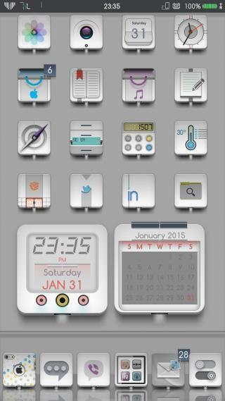 Download SE8ENiL iWidgets 1.0