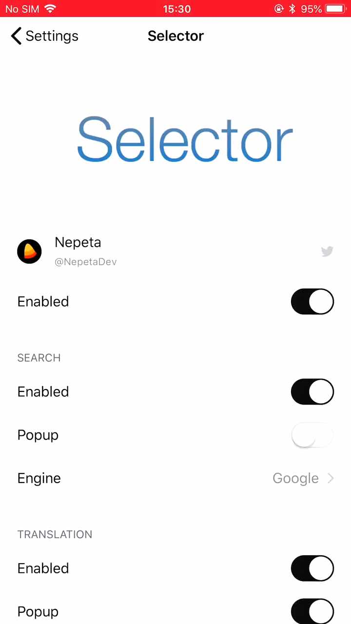 Download Selector 0.1.2