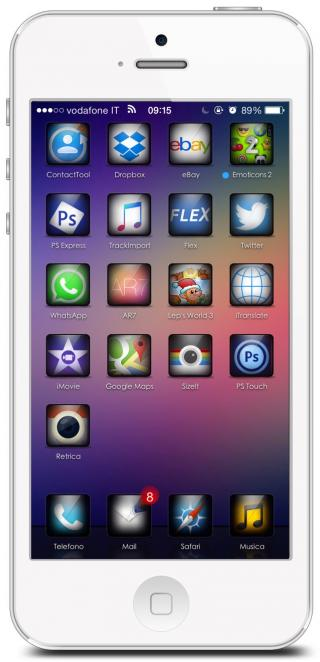 Download ShadowLit IconOmatic 1.0