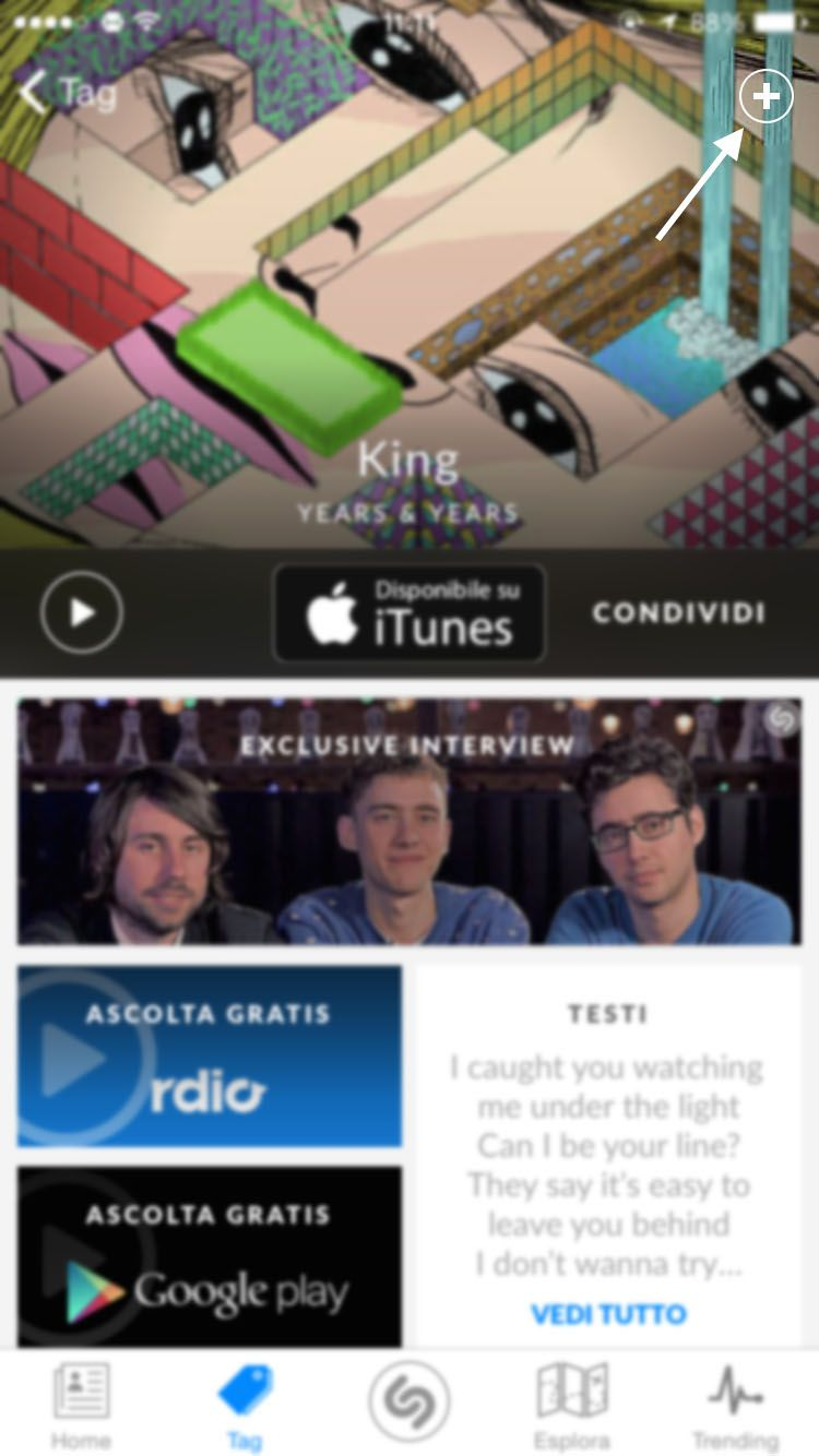 Download LinkTunes for Shazam iOS 7 1.0.0