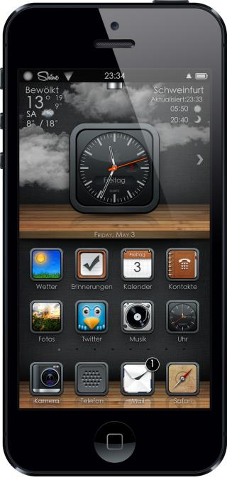 Download SHINE for iPhone 4/4s 1.3