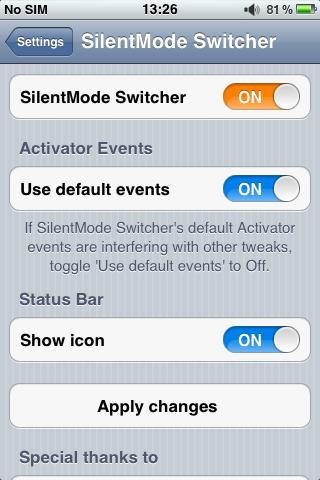 Download SilentMode Switcher 1.1.3