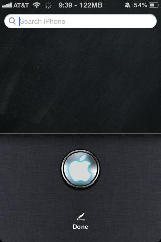 Download Siri Glowing Apple 1.2b