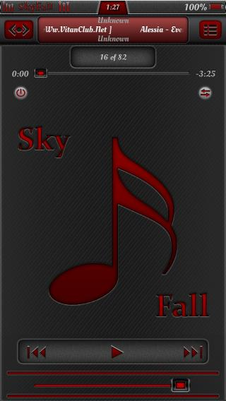 Download SkyFall Red iP4/4s iOS6 1.0