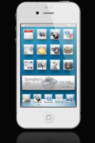 Download SmoothWhiteHD Lockscreen 1.1