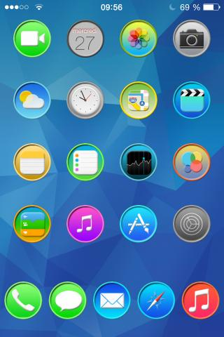 Download Soft Circle iOS 7 - Premium 3.0