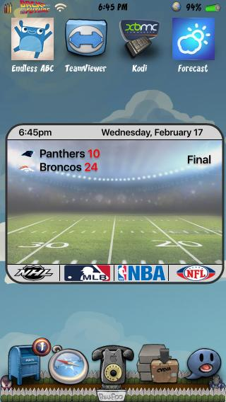 Download Sports Lovers iWidget 1.1