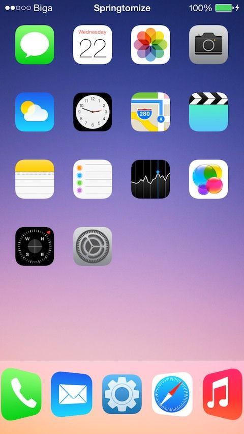 Download Springtomize 3 (iOS 9/8/7) 1.4.5-1