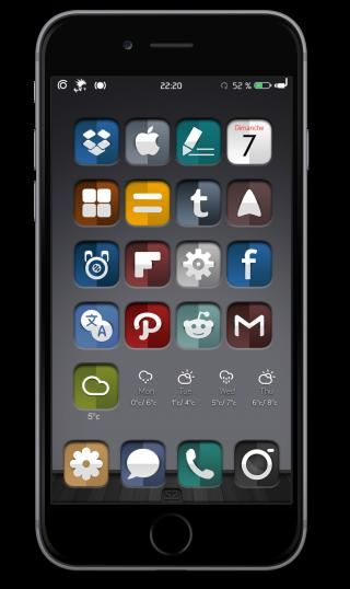 Download Sumwaz iOS8 ClassicBadges 1.0