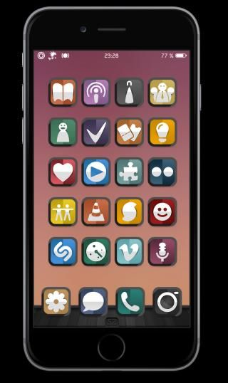 Download Sumwaz iOS8 iWidget Icon Touch 1.0