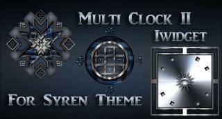 Download Syren Multi-Clock Iwidget II 1.1