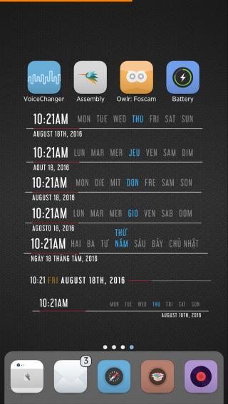 Download tdmd ClockCalendar Widget Pack 1 1.2