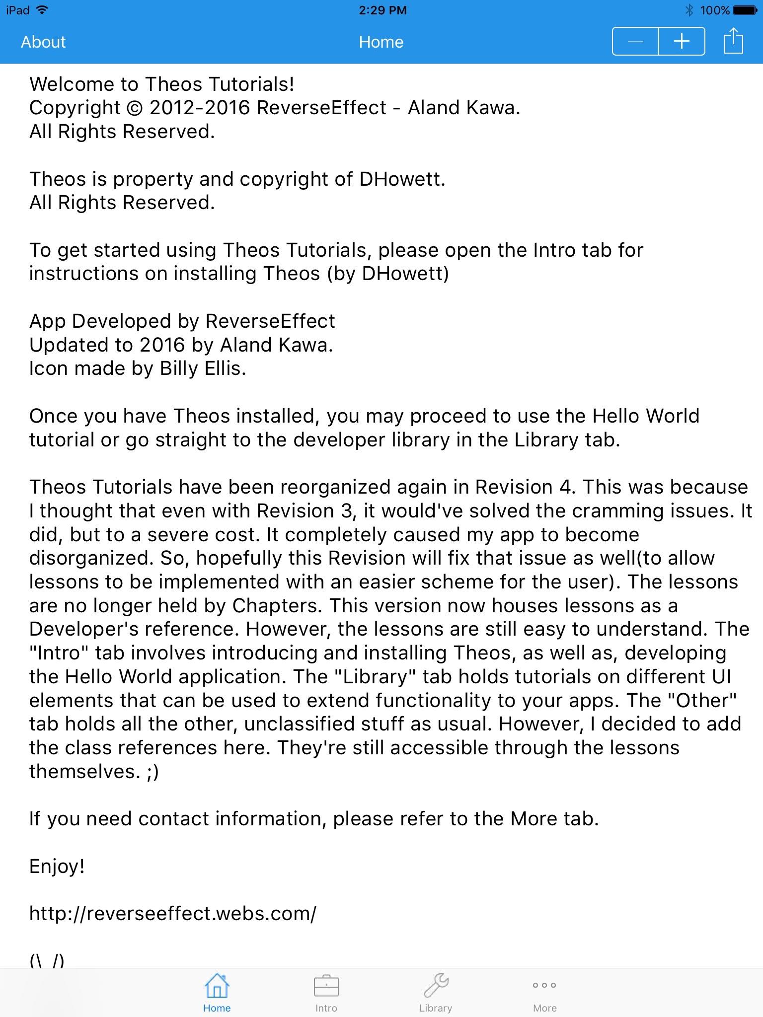 Download Theos Tutorials 1.6
