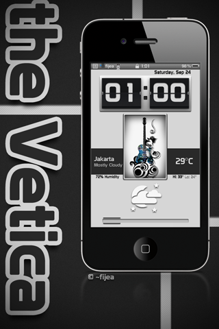Download _theVetica FClock 1.0.0