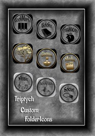 Download Triptych IPad Customfolder Icons 1.0