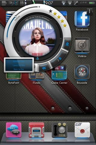 Download Truxe HD MusicBarExtended Skin 1.0