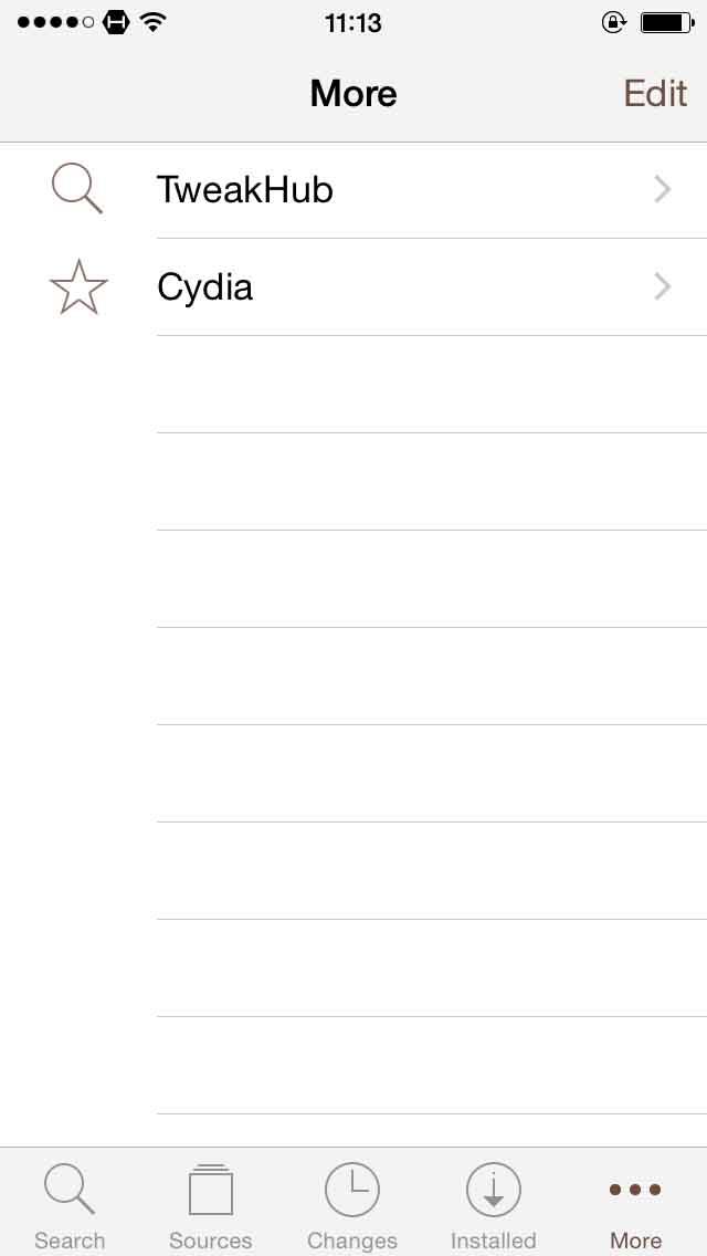 Download TweakHub for Cydia 1.0r-17