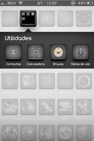 Download Ultimate Grey theme iOS5 1.0