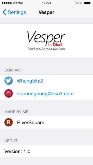 Download Vesper 1.1