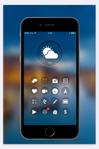 Download VisioHD iOS9 Dock pack 1.0