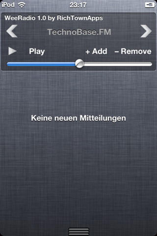 Download WeeRadio for NotificationCenter 1.1