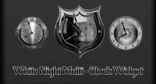 Download White Night Multi-Clock 1.0