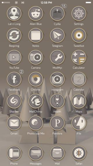 Download Zen8 iconOmatic Thin Round 1.0