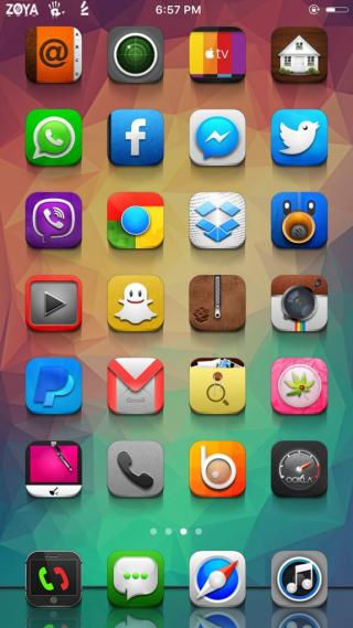 Download Zoya Theme 1.0